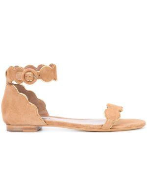Tabitha Simmons 'Pearl' Sandal sneakers (bruin)