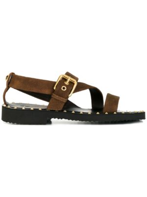 Giuseppe Zanotti Design Sandalen mit Nietenverzierung sneakers (bruin)
