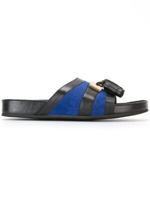 Balmain Pantoletten mit Quast sneakers (zwart)
