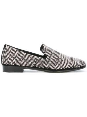 Giuseppe Zanotti Design Verzierte Loaf sneakers (zwart)
