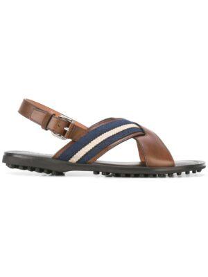 Car Shoe Sandalen mit gekreuzten Riem sneakers (bruin)