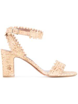 Tabitha Simmons 'Leticia' Korksandal sneakers (bruin)