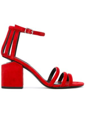 Alexander Wang 'Abby' Sandal sneakers (rood)
