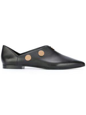 Pierre Hardy Slipper mit Kreisapplikatio sneakers (zwart)