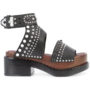 3.1 Phillip Lim 'Nashville' Plateau-Sandal sneakers (zwart)