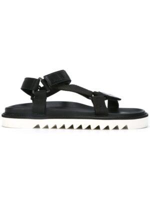 Golden Goose Deluxe Brand Sandalen mit Klettverschlu sneakers (zwart)