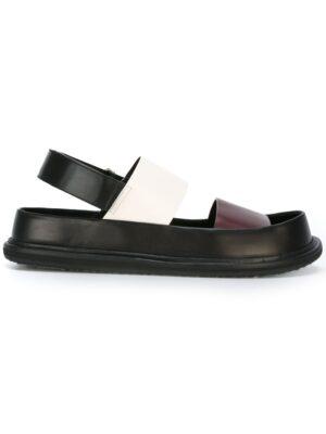 Marni Sandalen mit ausgeformten Fußbett sneakers (zwart)