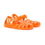 Armani Junior Jelly-Sandalen mit Logo sneakers (geel/oranje)