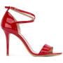 Armani Collezioni Sandalen mit Knöchelriem sneakers (rood)