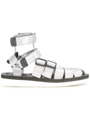 uicoke Sandalen mit Riemen in Metallic-Opti sneakers (grijs)
