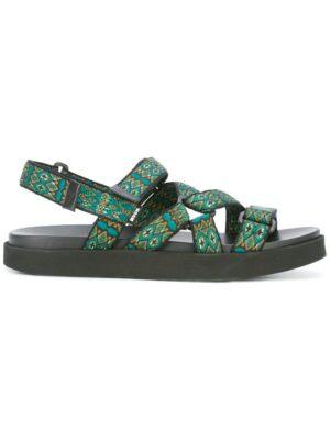MSGM Sandalen mit geometrischem Must sneakers (overige kleuren)