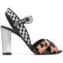 Allyn Sandalen im Mustermix sneakers (zwart)