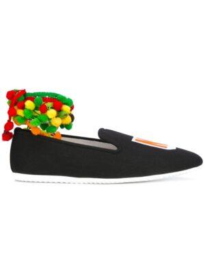 Joshua Sanders 'India NY' Slipp sneakers (zwart)