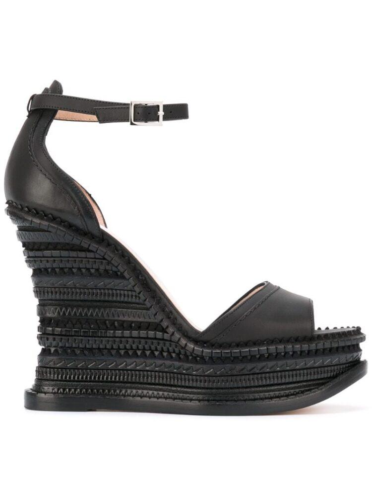 Alchimia Di Ballin Sandalen mit Keilabsatz sneakers (zwart)