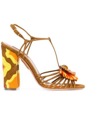 Aquazzura 'Samba 85' Sandal sneakers (bruin)