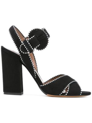 Tabitha Simmons Sandalen mit Kontrastnäht sneakers (zwart)