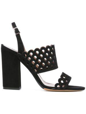 Tabitha Simmons Sandalen mit rundgezacktem Desig sneakers (zwart)