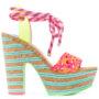 ophia Webster Sandalen mit Knöchelriem sneakers (paars)
