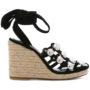 Alexander Wang 'Taylor' Sandal sneakers (zwart)