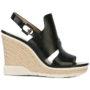 Calvin Klein Jeans Sandalen mit Wedge-Absatz sneakers (zwart)