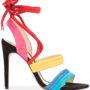 Alexandre Birman Wildledersandalen mit Knotenverschlu sneakers (Overige kleuren)