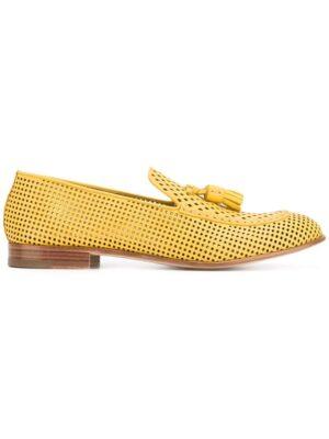 Fratelli Rossetti Perforierte Slipp sneakers (geel)
