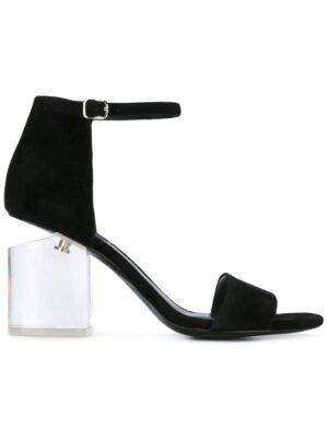 Alexander Wang Sandalen mit Kontrastabsatz sneakers (zwart)