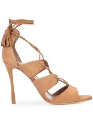 Tabitha Simmons Wildledersandalen mit Schnürung sneakers (bruin)