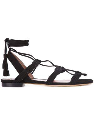 Tabitha Simmons Wildledersandalen mit Schnürung sneakers (zwart)