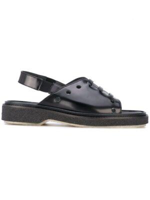 Adieu Paris Sandalen mit Laser-Cut sneakers (zwart)