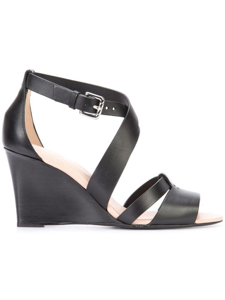 Tod's Klassische Wedge-Sandal sneakers (zwart)