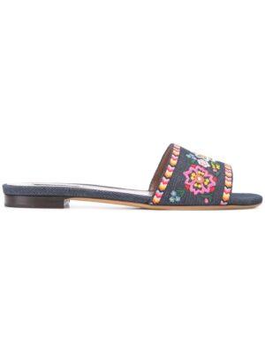 Tabitha Simmons Pantoletten mit Blumenmust sneakers (overige kleuren)