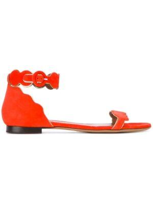 Tabitha Simmons 'Pearl' Sandal sneakers (geel)