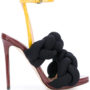 Marco De Vincenzo Geflochtene Sandal sneakers (zwart)