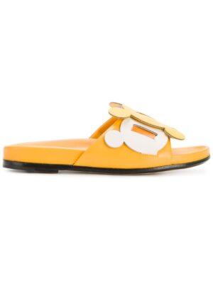 Anya Hindmarch 'Circulus' Pantolett sneakers (geel)