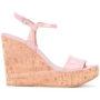 Bally 'Clivya' Wedge-Sandal sneakers (paars)