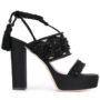 Alberta Ferretti Sandalen mit Schnürung sneakers (zwart)