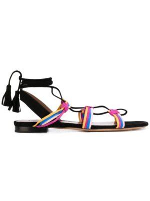 Tabitha Simmons Sandalen mit Knotendetail sneakers (zwart)