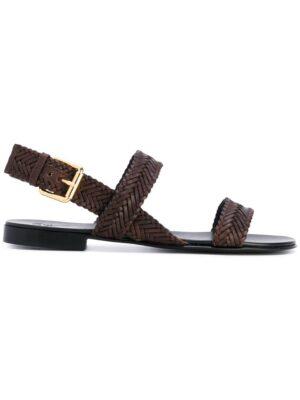 Giuseppe Zanotti Design 'Len' Sandal sneakers (bruin)