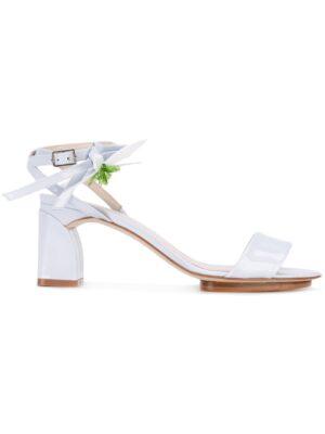 Delpozo Sandalen mit Blumen-Applikatio sneakers (overige kleuren)
