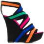Balmain 'Inti' Wedge-Sandal sneakers (zwart)