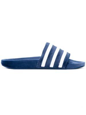 Adidas Originals 'Adilette' Samt-Pantolett sneakers (overige kleuren)