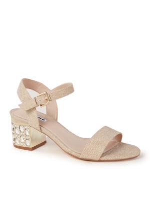 Mesmerized sandalette met glitter en strass