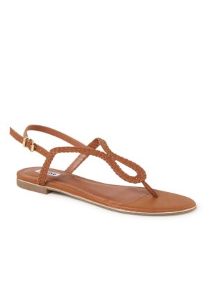 Longley sandaal met gevlochten details