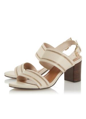 Jolyne sandalette van leer