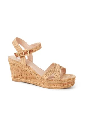 Kelisa sandalette met sleehak