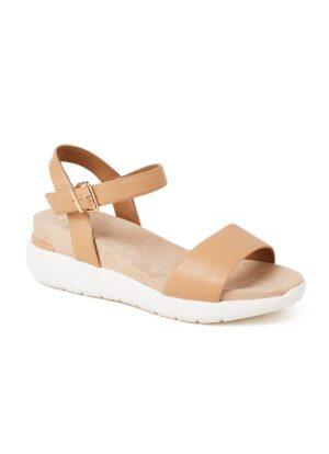 Kyoto sandaal van leer