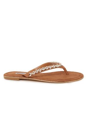 Newbeys slipper met strass