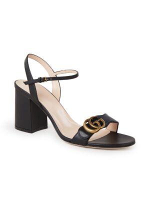 Marmont sandalette van leer