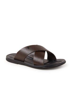 Franks sandaal van leer